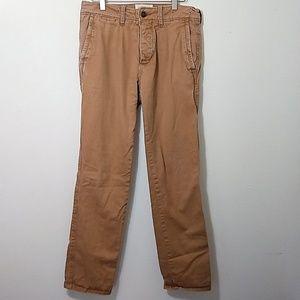 Abercrombie | Flannel Khaki Chino Pants 31 x 32